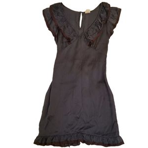 Converse John Varvatos Blue Silk Dress XS